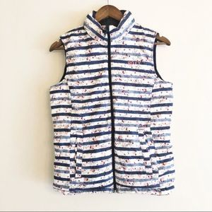Roxy Torah Bright reversible quilted down vest Sm